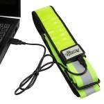 reflective led belt rechargeable