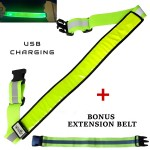 Green LED Reflective Belt web1