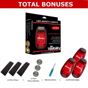 Led safety light Total Bonuses