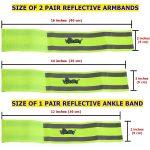 Reflective bands set dimension